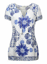 Unbranded Personalized Tees Floral T-Shirts for Women