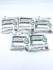 5 pack ChargeTab Emergency Phone Charger -for Iphone-Lightening Port