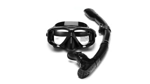 PRESCRIPTION Scuba Dive Snorkel Spearfishing MASK + SHORT SIGHT CORRECTIVE Lens