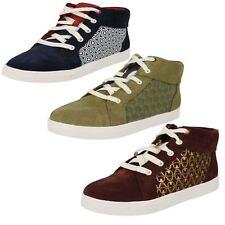 Clarks Boys Hi Top Casual Shoes 'City Hero Hi'