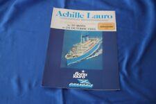 Flotta Lauro 1985 ACHILLE LAURO ex WILLEM RUYS