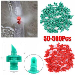 90°/180°/60° Sprinkler System Micro Drip Sprühdüse Garten Bewässerung Nebel DE