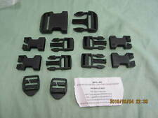 New Molle Backpack Replacement Repair Buckle Kit Black