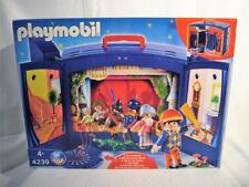Playmobil 4239  Kaspertheater Koffer mit Wendekulisse und Soundeffekten NEU OVP