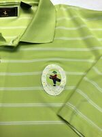 """Bethpage Collection Men's XL Golf Polo, Bethpage State Park """"Black Course"""" Logo"""
