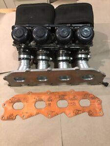 Ford Zetec E ZX9R 40mm Bike Carburettor Carbs and Manifold Kit Car Escort