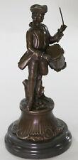 Milo Civil War Union Drummer Boy Hot Cast Bronze Sculpture/Statue Home Decor