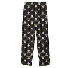 Pittsburgh Steelers NFL Youth Boys Pajama Lounge Bottoms, Size Medium 10/12  NWT