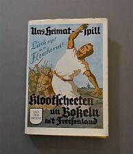 Die Klootschießer  Klootschießen  Boßeln  1938  Friesland  Nordenham Wesermarsch