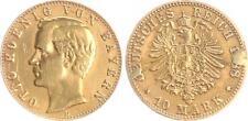 Bayern 10 Mark Gold 1888D Otto J.198  sehr schön,Lötstellen