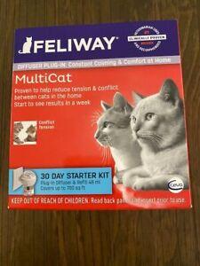 FELIWAY MultiCat Starter Kit for Cats  Exp 7/23