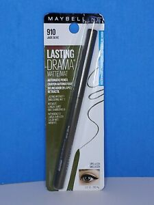 Maybelline Lasting Drama Matte Eye Liner Automatic Pencil 910 Jade Olive - New