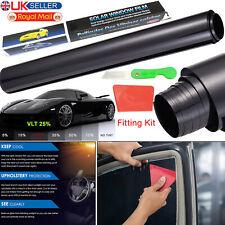 PRO LIMO CAR WINDOW TINT FILM ROLL TINTING SHADES DARK BLACK 3M X 50CM UK