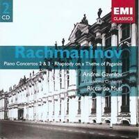 Andrei Gavrilov - Rachmaninov:Piano Concertos (NEW 2 x CD)