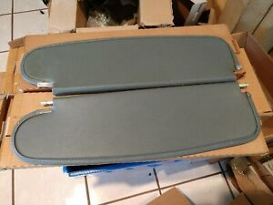 1955 Chevy Grey Sun Visors, pair; all body types except Convertible