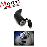 Adjustable Dual USB interface Port Charger Adapter For BMW R1200GS R1200RT ADV