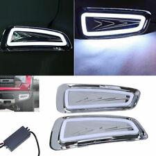 2x LED Daytime Running Lights DRL Fog Lamps For Ford Raptor F150 2009-2014 White