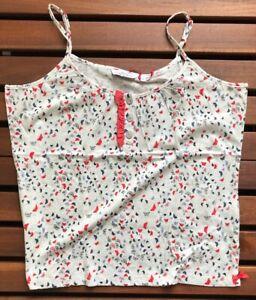 Jockey Women's Cotton Camisole - Butterfly Pattern - 2XL - 851006WH-182