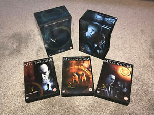 MILLENNIUM : THE COMPLETE SEASONS 1-3 COLLECTION - 18 DISC DVD BOXSET - IN VGC
