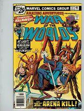 Amazing Adventures #37 (Jul 1976, Marvel)! Fn/Vf7.0+! War of the Worlds! Bronze!