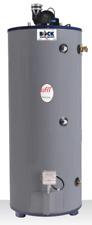 BOCK 75 Gallon 76,000 BTU/hr. Natural Gas Water Heater.