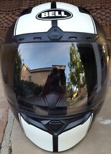 BELL QUALIFIER RALLY MATTE Small motorcycle helmet TRANSITIONS Shield black agv