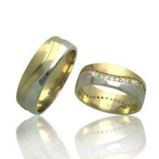 2 Trauringe 925 Silber GRAVUR + Etui Eheringe Verlobungsringe Partnerringe 3321