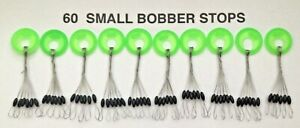 60 You choose size BOBBER STOPPERS NEW stops ice fishing