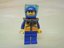 LEGO Figur City Küstenwache Taucher Brille Sauerstoffflasche cty065 4210