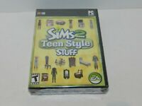 The Sims 2 Teen Style Stuff Computer PC Original Game Brand New Factory Sealed