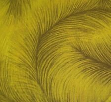 Caryl's Feather BTY Benartex Lime Green Large Blender 100% Cotton Fabric
