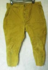 1933-35 Canvass Football Pants made under Nra license.