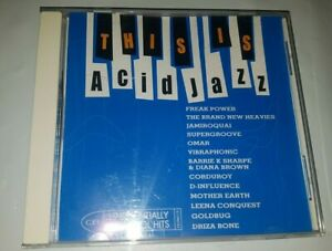 THIS IS ACID JAZZ - VARIOUS ARTISTS 19 TRACK CD IN VGC