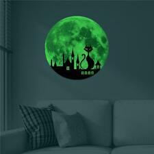 Wall Stickers Moon Earth Planet Luminous Glow In The Darkness Wall Decals BL3