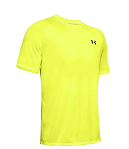 Under Armour Men's Tech Short Sleeve Heat Gear Tee Small X-Ray Yellow (1326413)