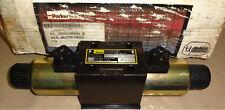 Parker D3FWE81MCVJW020 Directional Control Valve 12 VDC D3FWE81MCVJWO NEW