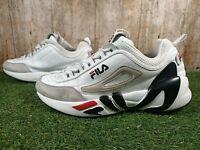 Fila Mens Trainers Shoes White Size 10 UK 44.5 EUR