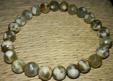 Yellow Fire Agate Stone Bracelet 8 mm Creates An Impermeable Protective Shield