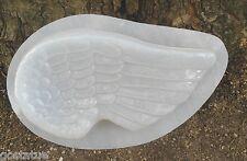Angel wing mold  plaster concrete plastic mould