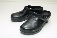 Aravon 7.5 D Black Slip On Shoes Women's