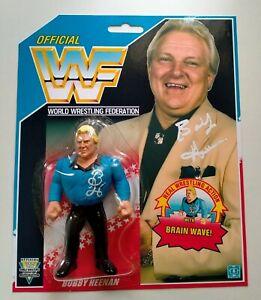 CUSTOM WWF HASBRO RAVISHING BOBBY HEENAN WWE WRESTLING FIGURE
