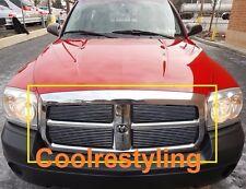 For 2005 06 07 Dodge Dakota Polished Billet Grille Insert Bolt on