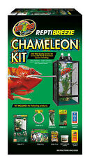 Zoo Med Reptibreeze Camaleón Kit 41x41x76cm Reptibreeze Starter Kit