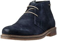 Mens Barbour Read head Navy Office Smart Ankle Shoes Suede Leather Chukka Boots