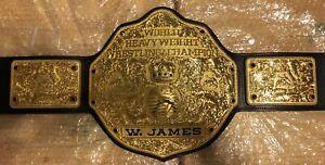 Fandu Big Gold Wrestling Belt Set Of 26 Jet Black Replacement Jewels, Gems