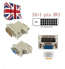 DVI-D DVI Maschio 24+1PIN a VGA SVGA 15PIN video Donna Monitor Adattatore 10