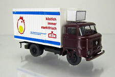 "SES 14105726 IFA W 50 L/IKB Thermokoffer "" KIM Eier "" weinrote Kabine"