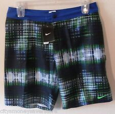 NWT Nike Swim Data Mens Boardshorts 34 Hyper Blue MSRP$90