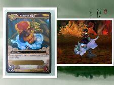 10 (TEN) WOW SANDBOX TIGER  Loot Cards Unscratched NEW