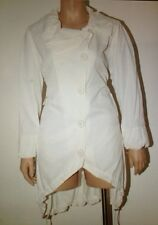 Jean Marc Philippe Trench Coat Plus Size 22 White Color